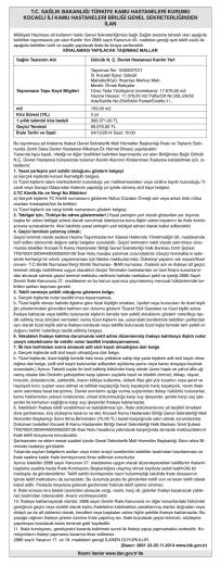 sağlık bakanlığı - Özgür Kocaeli Gazetesi