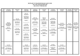 2013-2014 Eğitim-Öğretim Yılı Bahar Yarıyılı Ara - kbü