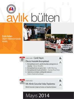 Mayıs 2014 - Türk Toraks Derneği