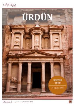 ürdün kültür turu