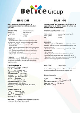 belsıl kms - Belice Kimya