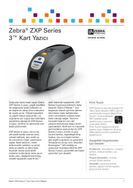 Zebra® ZXP Series 3™ Kart Yazıcı