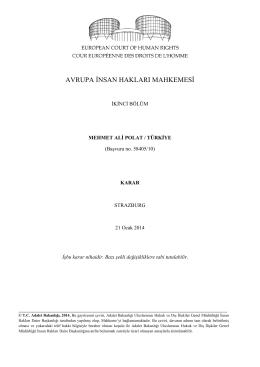 avrupa ġnsan hakları mahkemesġ