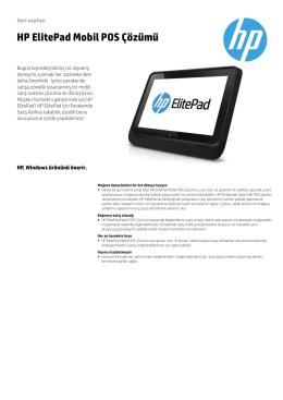 PSG EMEA Commercial Mobile RPOS 2014