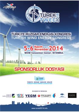 sponsorluk dosyası - Türkiye Rüzgar Enerjisi Kongresi