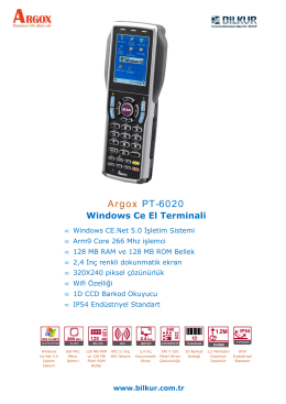 Argox PT-6020 Teknik Özellikler