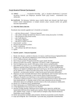 PDF indir - Teta Elektronik A.Ş.