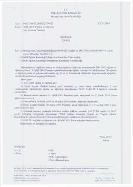 TC - kayseri - develi ilçe millî eğitim müdürlüğü