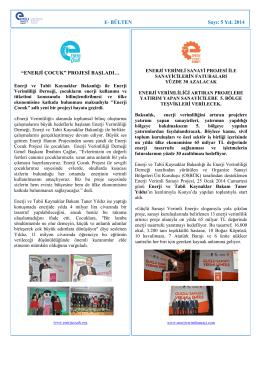 Şubat 2014 - Enerji Verimliliği Derneği