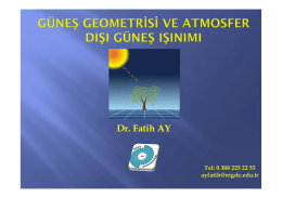 Ders 2 - Yrd.Doç.Dr.Fatih AY