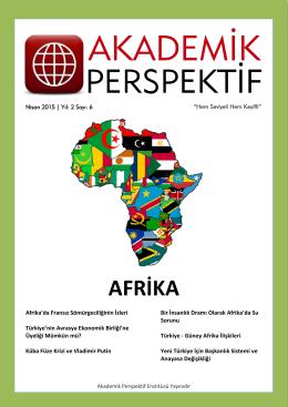 AFRİKA - Akademik Perspektif