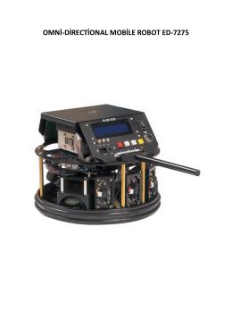 OMNİ-DİRECTİONAL MOBİLE ROBOT ED-7275