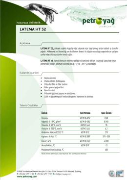 LATEMA HT 32