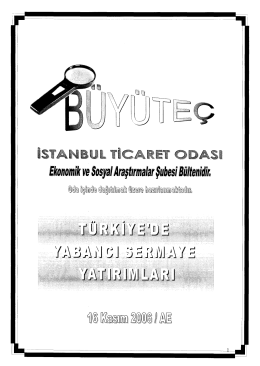 Günlük Bülten - Borsa İstanbul