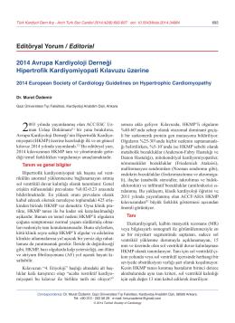 PDF - Türk Kardiyoloji Derneği Arşivi
