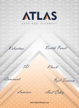 dijital katalog - Atlas Çelik Kapı Sistemleri