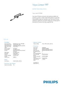 Vaya Linear MP BCP424/425/426 projektör, 0,3 m