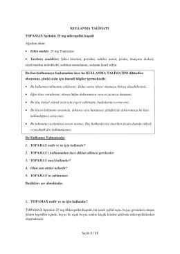 • Etki,, madde: 25 rng Topirarnat siyah nı aıbaa nıürekkebi. sorbi nın