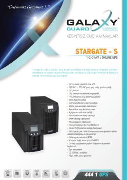 STARGATE - S