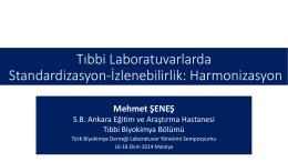 Mehmet Şeneş - Türk Biyokimya Derneği