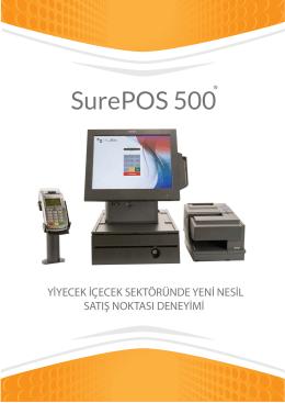 SurePOS 500 Broşürü