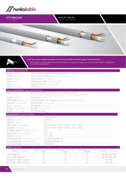koaksiyel kablolar / coaxıal cables cctv kablolar cctv cables cctv 4+1
