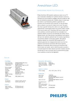 ArenaVision LED EVP420/421/422 harici sürücü kutusu