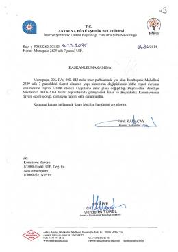 Gündemin 43.Maddesi - Antalya Belediyesi