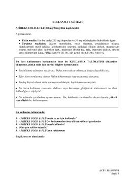 ACF-130819P4V1 Sayfa 1 KULLANMA TALİMATI