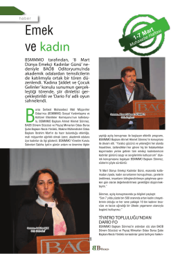 """""""IAG RA kadın - Bursa SMMM Odası"""