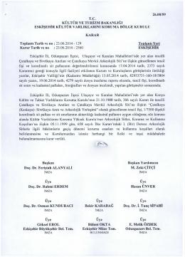 Eskişehir Odunpazarı Çatalkaya , Sivrikaya Anıtları ve Çatalkaya