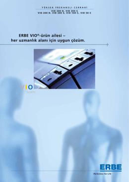 ERBE VIO®-ürün ailesi – her uzmanlık alanı için uygun çözüm.