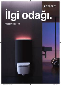Geberit Monolith lavabo modülü