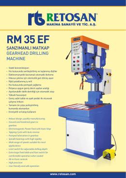 RM 35 EF - Retosan