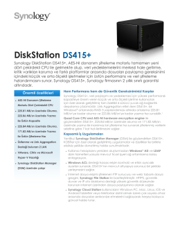 DiskStation DS415+