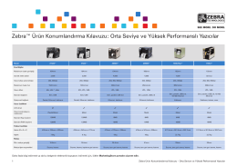 DÖKÜMAN İNDİRZebra 105SLPlus Product Positioning Guide