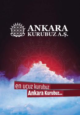 www.ankarakurubuz.com.tr | 1