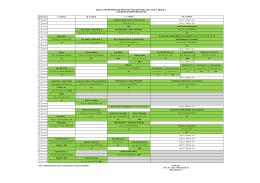 2014-2015 Güz Yarıyılı I. Öğretim Ders Programı (Yeni)