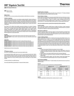 DRI® Digoksin Test Kiti