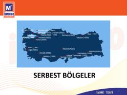 serbest bölgeler - İstanbul Serbest Muhasebeci Mali Müşavirler Odası