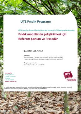 UTZ Fındık Programı