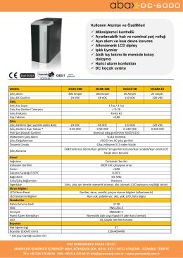 -DC-6000 - Pem Enerji
