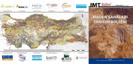 Maden Sahaları Tanıtım Bülteni Sayı 13