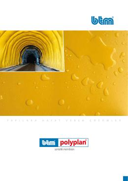 BTM Polyplan PVC Membran