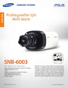SNB-6003 DATASHEET