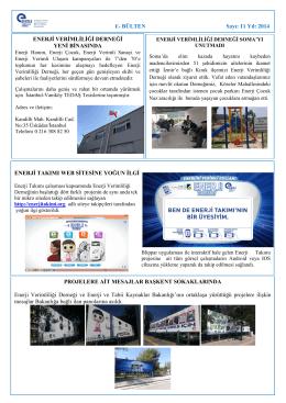Ağustos 2014 - Enerji Verimliliği Derneği