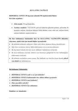 RISPERDAL CONSTA 50mg_KT
