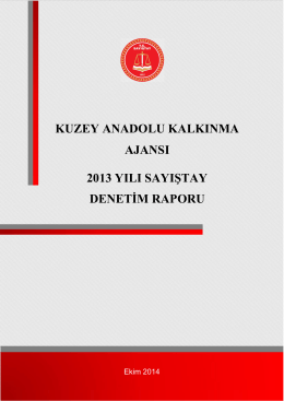 Kuzey Anadolu Kalkınma Ajansı