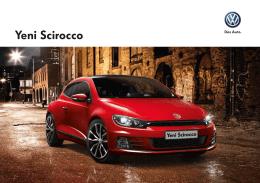 Yeni Scirocco - Volkswagen Türkiye