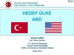 Sunum 2 (Ahmet Canlı, Ekonomi Bakanlığı)